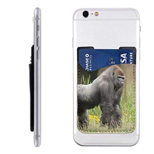 Portemonnee voor mobiele telefoonkaart, creditcardvakjes, zakID-kaart, groen