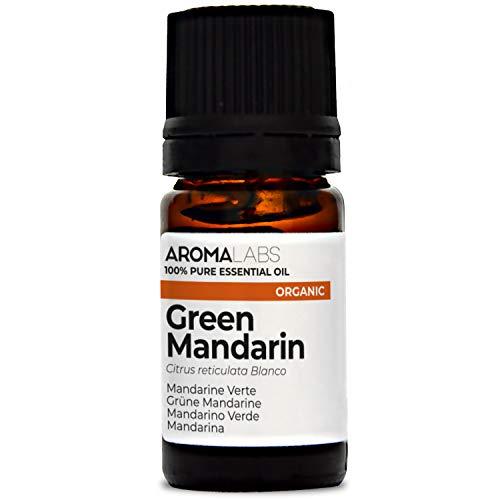 Mandarina BIO - 5ml - Aceite esencial 100% natural y BIO - calidad verificada por cromatografía - Aroma Labs