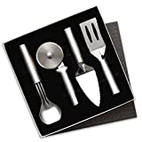 Rada Cutlery 4-Piece Kitchen Utensil Gift Set – Stainless Steel Set with Aluminum Handles Made in the USA,Silver Handle