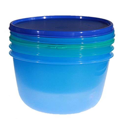 TUPPERWARE Frischhaltedosen Set (8,50 Tassen, 6,50 Tassen, 4,50 Tassen)