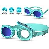 RUNACC Kinder Schwimmbrille 2-in-1 Sonnenbrille Kinder Taucherbrille Schnorchelbrille Tauchmaske...