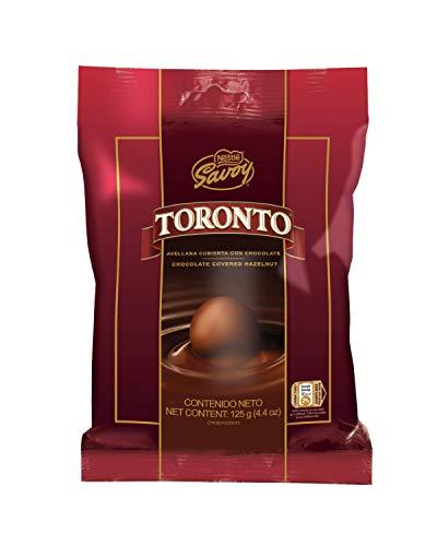 TORONTO Avellana Cubierta con Chocolate SAVOY / SAVOY-Chocolate Covered Hazelnut. 125 gr / 4.41 oz, 14 und de 9 gr c/u / 0.32 oz each
