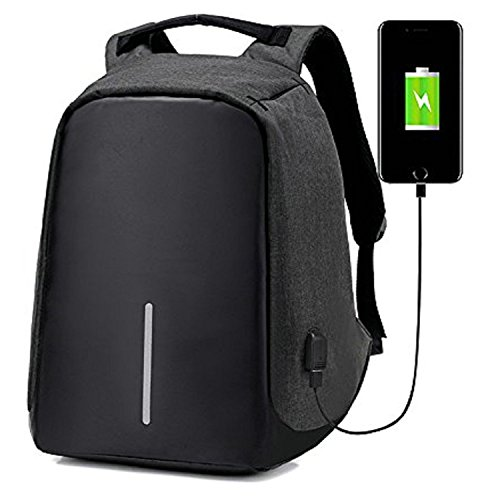 ipack Anti Theft Laptop Backpack USB Port