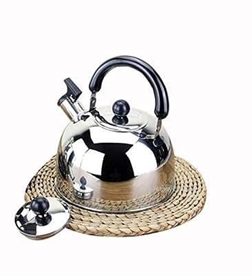 Lami Whistling Tea Pot,Te Kettle for Stovetop,Stainless Steel Teakettle, Tea Pots for Stove Top,(2L) Large, Mirror Polish Whistling Tea Kettle