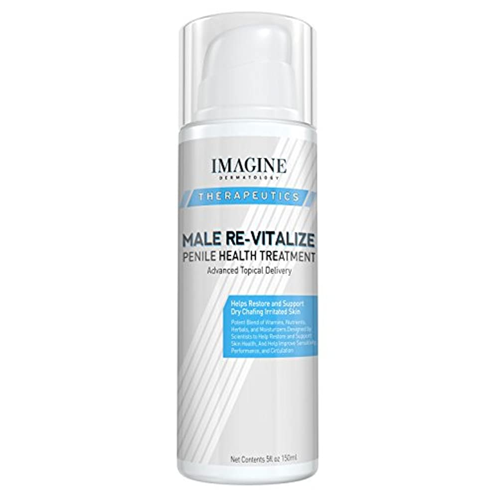 Penile Health Relief Cream No Mess Pump Soothe & Protect Red Irritated Chaffed Skin Male Re-Vitalize Large 5oz Size (5fl oz/ 150ml) 60 Day Return for Any Reason