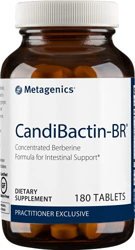 Metagenics CandiBactin-BR® – Concentrated Berberine Formula for Intestinal Support * | 180 Count (180 Tablets)
