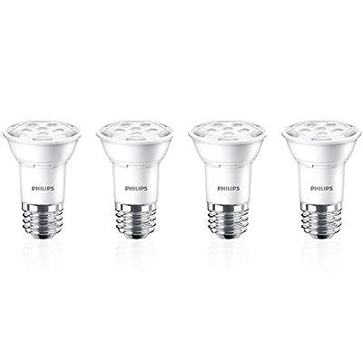 Philips 464981 50W Equivalent Bright White Par16 Led Light Bulbenergy Star Certified