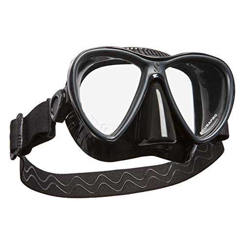SCUBAPRO Synergy Twin duikmasker All-Black Edition (zwart/zwart)
