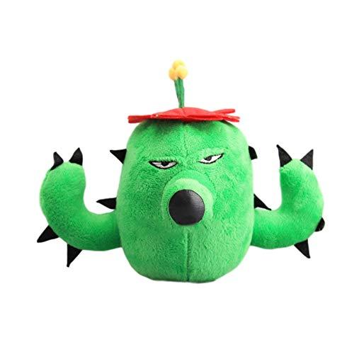 Taoyouzj Juguetes de Peluche Nuevo 1 unids 16 cm Muñecas rellenas Plusas Plantas Juguetes niños niños Navidad Peluche Juguetes Regalo (Color : 16cm)