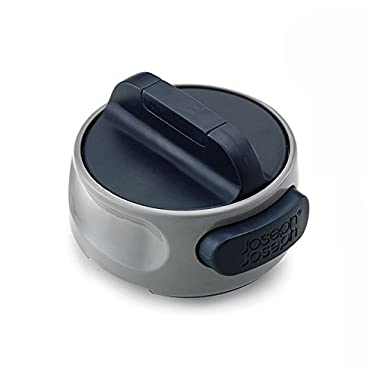 Joseph Joseph 20029 Can-Do Compact Can Opener Easy Twist Release Portable Space-Saving Manual Stainless Steel, Gray