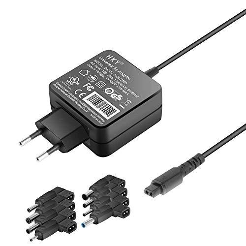 HKY 45W 19V~20V Adaptador de Cargador Universal con 9 Conexiones...
