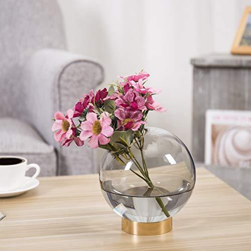 Brass Flower Vase - 5