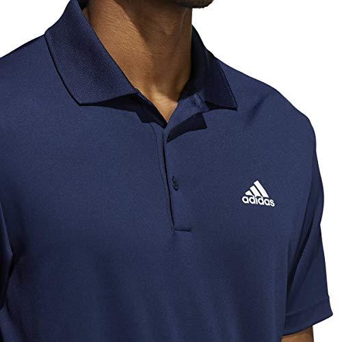 adidas Golf Mens Performance LC Polo Shirt - Collegiate Navy - L