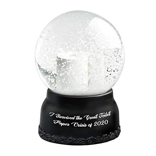 Christmas Snow Globe Hilarious Toilet Paper Snow Globe I Survived The Great Toilet Paper Crisis of...