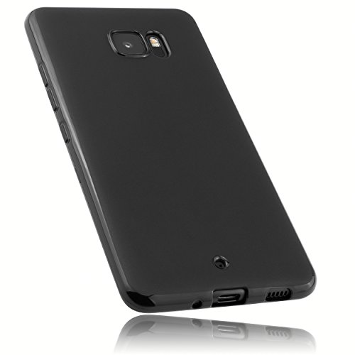 mumbi Hülle kompatibel mit HTC U Ultra Handy Hülle Handyhülle, schwarz