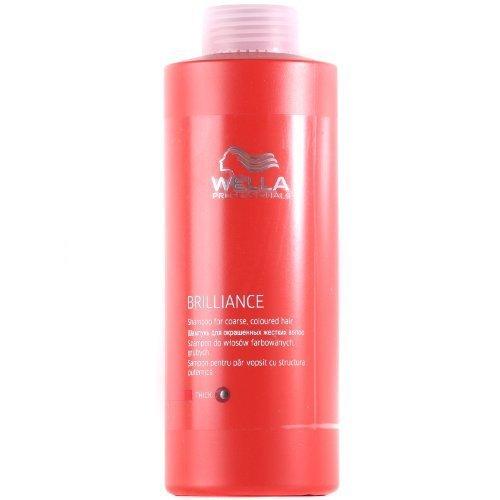 Wella Brilliance Shampoo 1000ml coarse/thick [Personal Care] by Wella