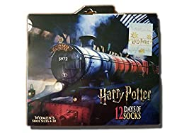 Hogwarts Express, 12 days of socks