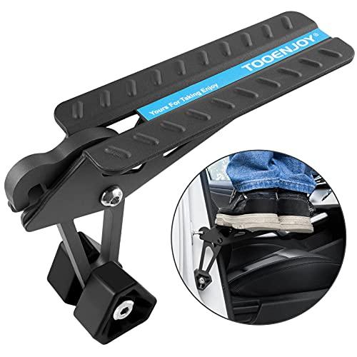 TOOENJOY Vocavi Universal Belastbar bis 180 kg Auto Türstufe Klappbare Autotür Pedal Klappleiter für Autos Unkompliziert aufs Dach Zu Kommen die Fahrzeug mit Den U Türfallen SUV, Wohnmobil, Jeep, RV