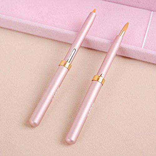 GSTONE-Glanz-Lippenpinsel/Marken-Reise mit einer Kappe, tragen Lippenstift-Bürste/Designer einziehbare Chesp-Frauen-Make-upwerkzeuge 1