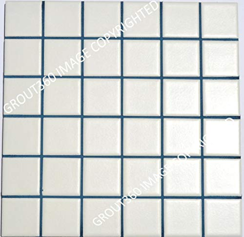 Grout 360 Pacifica Blue Sanded Tile Grout for Tile Installation Jobs. Use on Floors, Walls, Back Splashes, Showers, and Mosaics. (1)