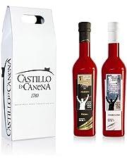 Castillo de Canena - Estuche Primer día de Cosecha Arbequina y Picual - Aceite de Oliva - 2 x 500 ml - Total: 1000 ml