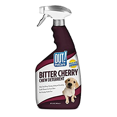 OUT! Bitter Cherry Chew Deterrent for Dogs, 32 oz by OUT! International
