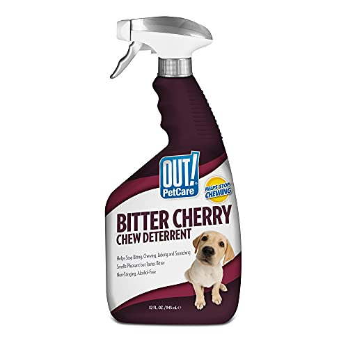 OUT! Bitter Cherry Chew Deterrent for Dogs