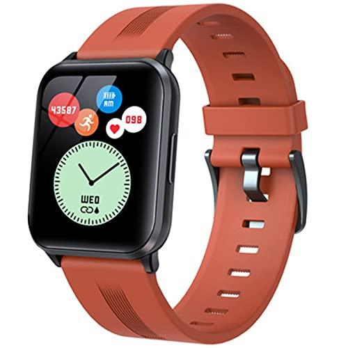 l b s 24 modos de deporte Y79T reloj inteligente 1.69 pulgadas Fitness Tracker para hombres mujeres IP68 temperatura corporal salud pulseras (F)