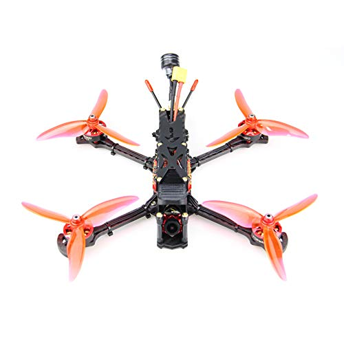 HGLRC Sector 5 inch Freestyle BNF FPV Racing Drone F722 Flight Controller FD60A Blheli 32 4in1 ESC 2306 2450KV Brushless Motors 1200TVL FPV Camera DIY Hobby RC Quadcopters Multirotors