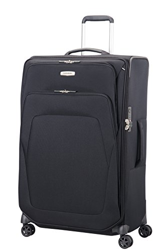 Samsonite Spark SNG Spinner L Valigia Espandibile, 79 cm, 124 L, Nero (Black)