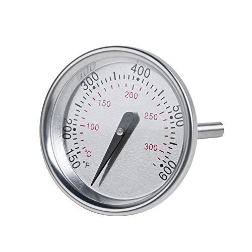 X Home 60540 Thermometer, Ersatz für Weber Charcoal, Q Serie, Spirit 200/300 Series, Spirit E/S-210 E/S-310 E/S-320, Q120 Q220 Q300 Q320, 1-13/16