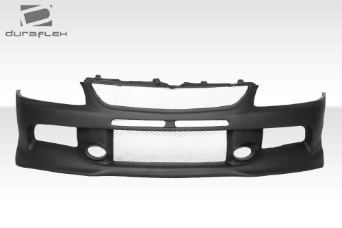 Extreme Dimensions Duraflex Replacement for 2003-2006 Mitsubishi Lancer Evolution 8 9 MR Edition Front Bumper Cover - 1 Piece