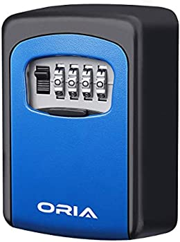 Oria Key Storage Lock Box with 5 Key Capacity