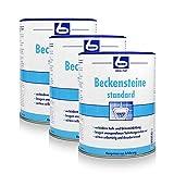 3x Dr. Becher Beckensteine standard für Urinale 30 stk.