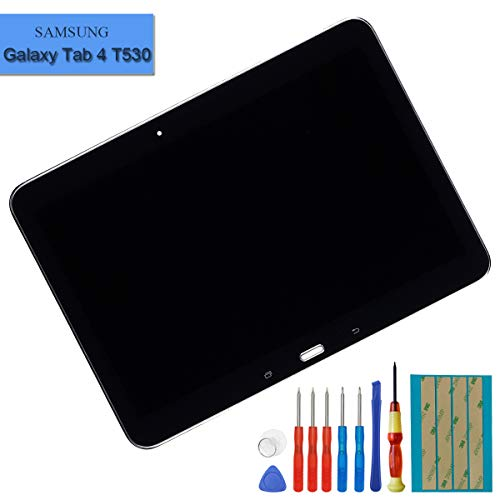 E-yiiviil nieuwe vervanging LCD-scherm compatibel met Samsung Galaxy Tab 4 10.1 SM-T530 SM-T531 SM-T533 SM-T535 LCD Touch Screen Display Assembly zwart frame met tools