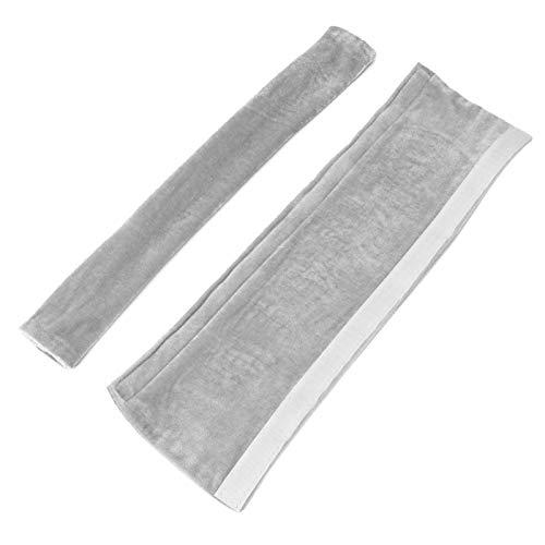 Aoutecen Cubiertas Flexibles para manijas de Nevera 2PCS para Cocina(Gray)