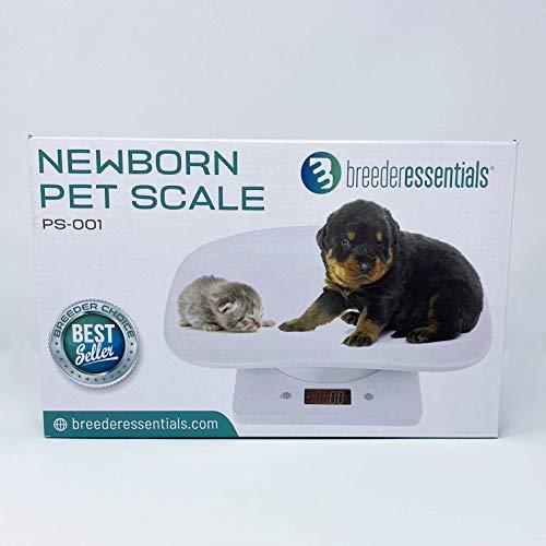 Breeder Essentials Newborn pet Scale, Puppy Scale, Kitten Scale, Small Animal Scale, pet Scale