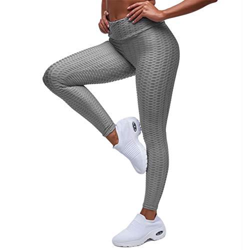 EXGOX Women High Waist Yoga Pants Stretch Running Workout Yoga Leggings Tummy Control Sport Tights