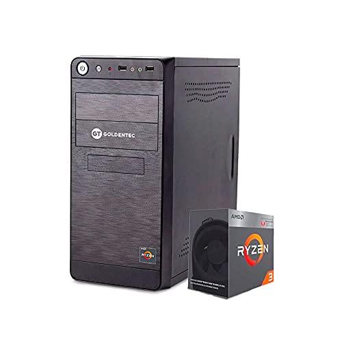 Computador Goldentec F-GCLAMD Ryzen 3 2200G PRO 3.5GHz 4GB SSD 240GB