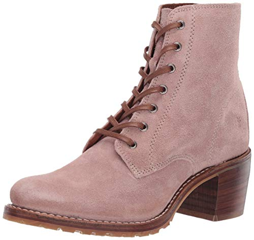 FRYE Damen Sabrina 6G Lace Up Stiefelette, Blass-Rouge, 36.5 EU
