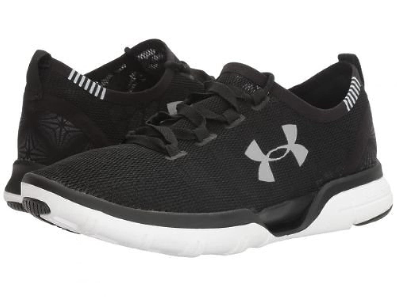 Under Armour(アンダーアーマー) レディース 女性用 シューズ 靴 スニーカー 運動靴 UA Charged Coolswitch Run - Black/White/White [並行輸入品]