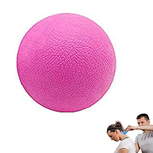 Lumanby Masaje Lacrosse Ball Acupoint Física Terapia Masaje Bolas Equipo de Terapia Física 2.5 pulgadas de Diámetro