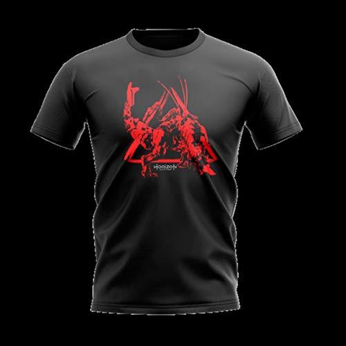 Camiseta horizon zero dawn - thunderous - banana geek xg