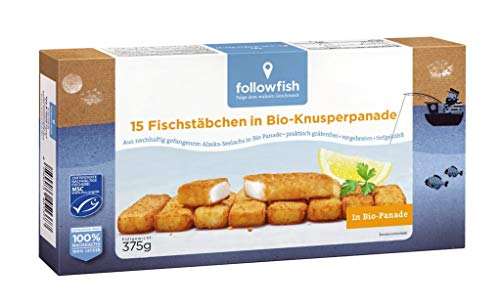 Followfish - Fischstäbchen in Bio-Panade TK - 375g