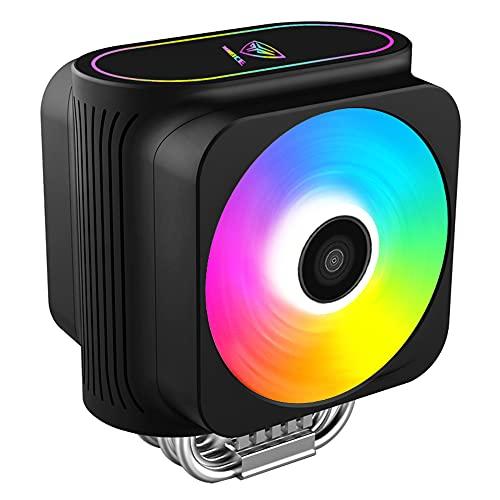 PCCOOLER GI-D66A - Ventilador para CPU (LED RGB, 230 W TDP, para Intel y AMD)