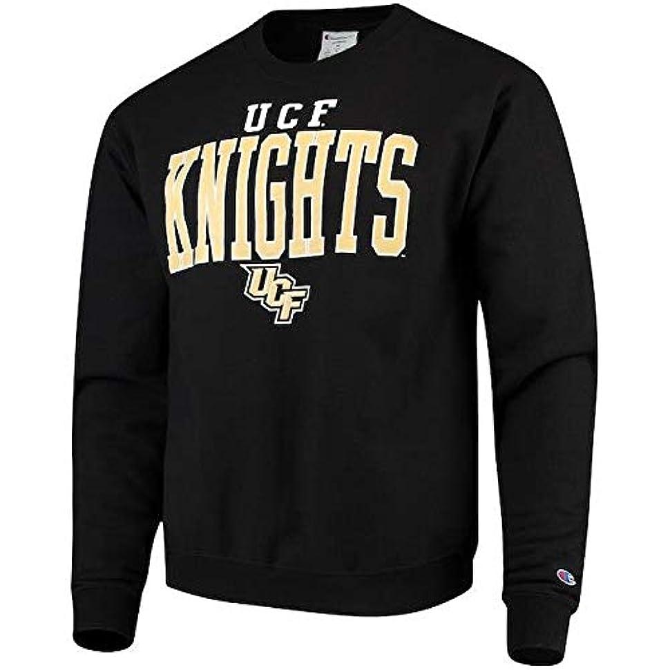処理する大使逆さまにChampion Champion UCF Knights Black Eco Powerblend Expansion Pullover Sweatshirt スポーツ用品 【並行輸入品】