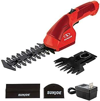 Sun Joe 7.2V Cordless 2-in-1 Grass Shear Hedge Trimmer