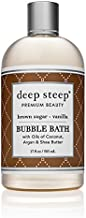 Deep Steep Bubble Bath, Brown Sugar Vanilla, 17 Ounce