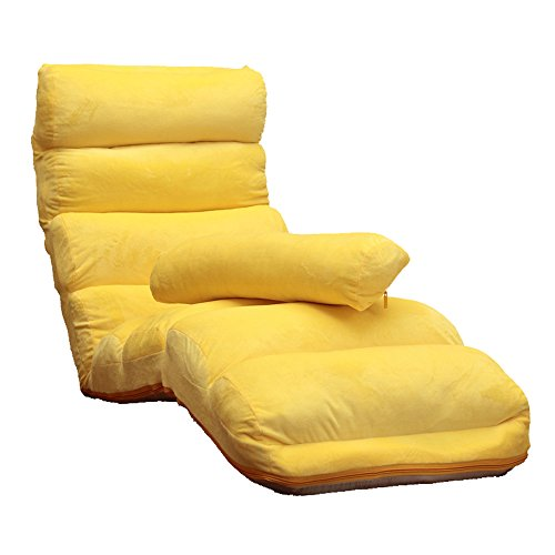 ZHEYANG Gaming Bodenstuhl Lounges Sofa, Single Floated Window Chair, Japanisch Waschbare Klappsofa, Bed Chair, Balkon Lounge Chair (Farbe : 5#)