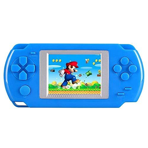 Kobwa, console di gioco portatile per bambini, con 268 giochi classici, il sistema di gioco portatile Arcade degli anni '80 (blu)